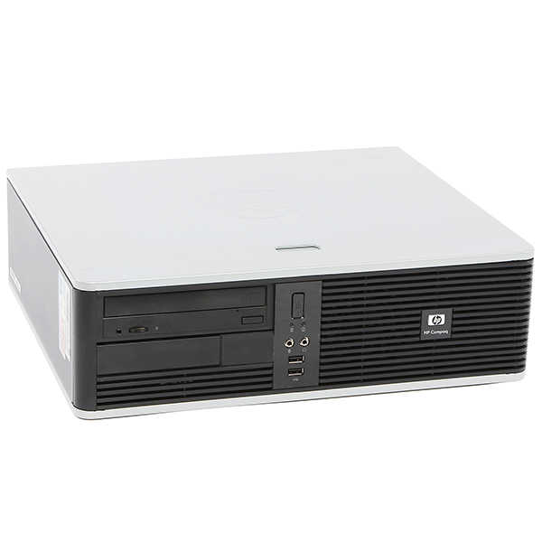 HP Desktop PC System Windows 10 Dual Core Processor 4GB Ram 250GB Hard Drive with a 19' LCD Monitor-Refurbished Computer