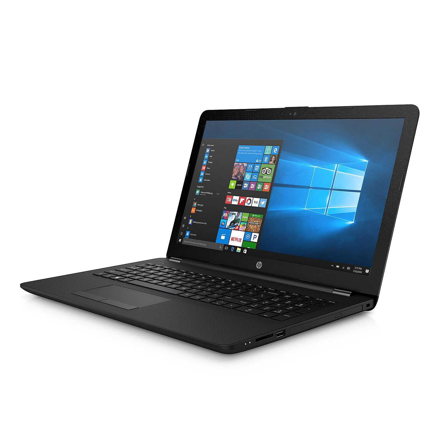 HP 15.6' HD Notebook, AMD A12 Quad-Core Processor, 8GB Memory, 1TB Hard Drive, Optical Drive, HD Webcam, Windows 10 Home