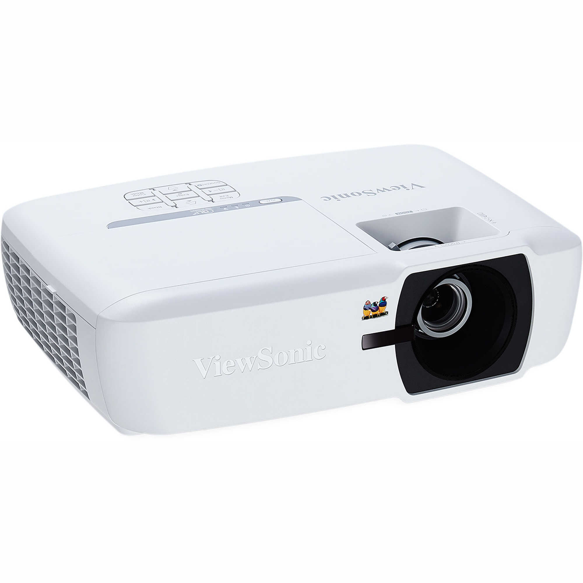ViewSonic PA505W WXGA DLP Projector, 1280x800, 3,500 lumens, Exclusive SuperColor technology, extensive connectivity including 2x HDMI, 2x VGA in, Composite Video, 1x VGA output