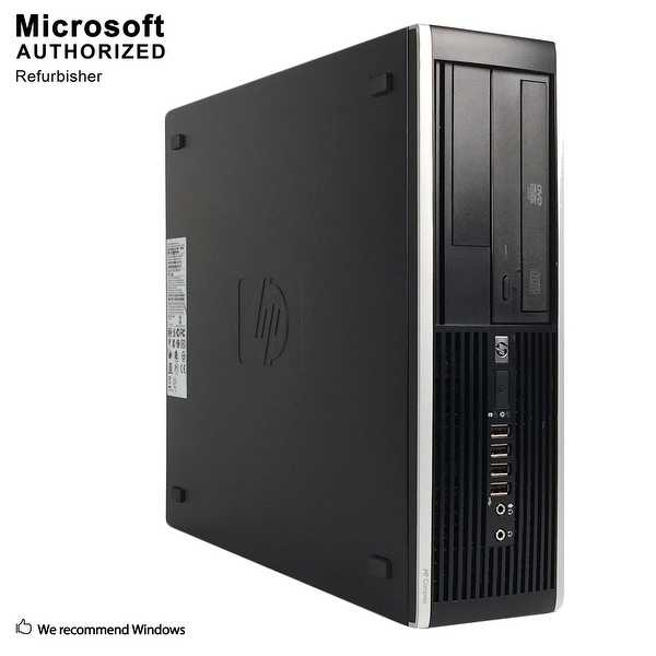 HP 6300 SFF, Intel i5-3470 3.2GHz, 12GB DDR3, 2TB HDD, DVD, WIFI, HDMI, VGA, Display Port, BT 4.0, WIN 10 64 Bit(EN/ES)